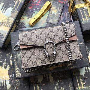 Gucci Dionysus Small Shoulder Bag gg GG BIG